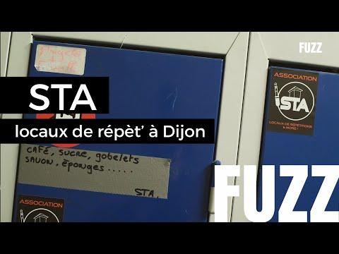 Visite de la STA, salles de répétitions à Dijon / FUZZ