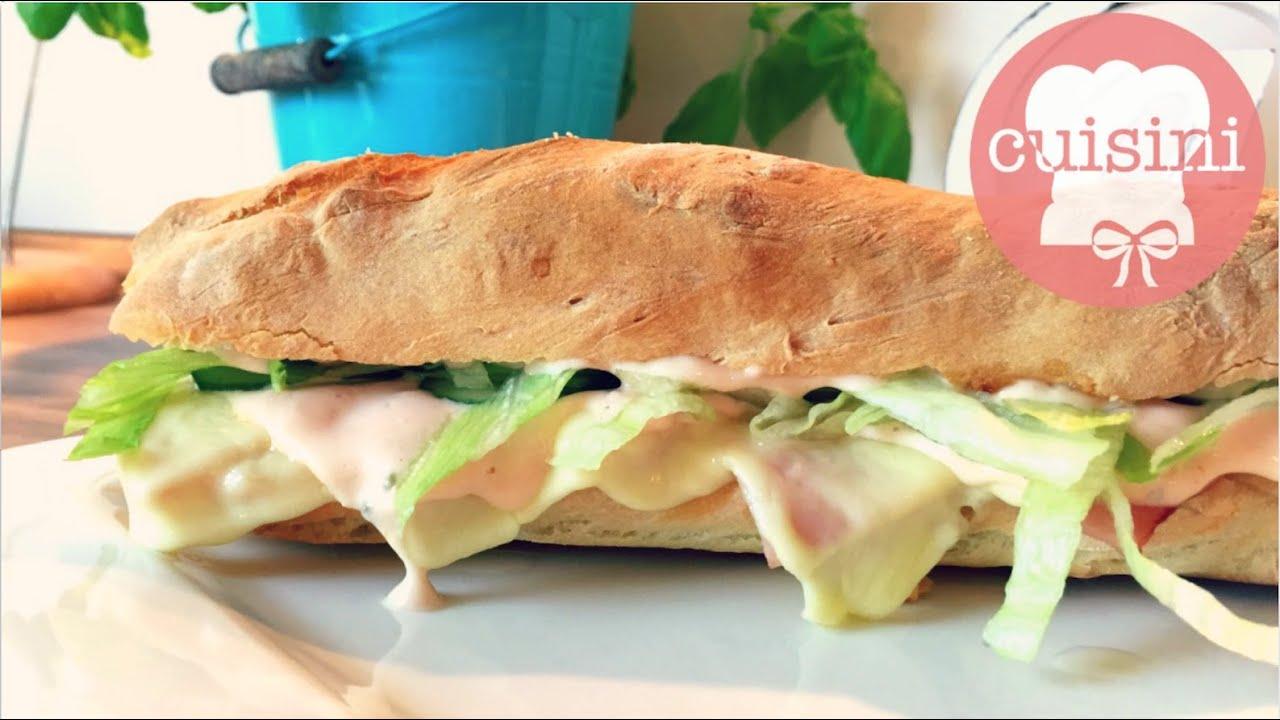 sandwich selber machen