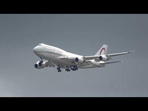 Royal Morocco Air Force B747 [CN-MBH] Flight Tests @ Hamburg Airport