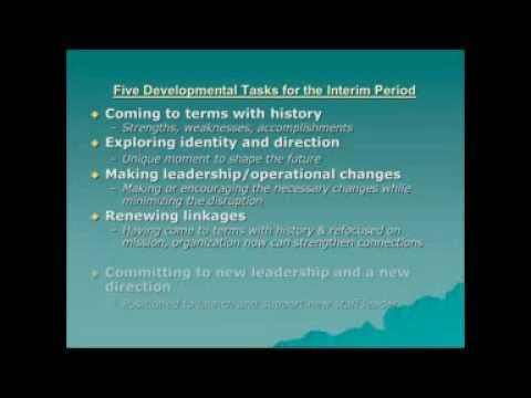 Board of Director Training Series Part 4  Executive Transition Management November 5th, 2012