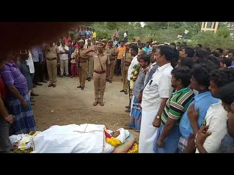 Final respect for tamilnadu police Miss you sathish Anna