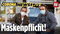🔴 Erste Bundesländer führen Maskenpflicht ein | Corona News LIVE vom 20.04.2020