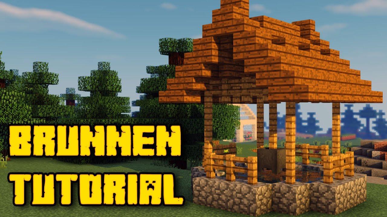 Minecraft kleinen Brunnen bauen Tutorial | Minecraft ...