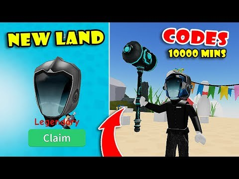 NEW TECHNOLOGY LAND UPDATE! BUYING NEW WEAPON & BEST LEGENDARY HATS In UNBOXING SIMULATOR! [Roblox]