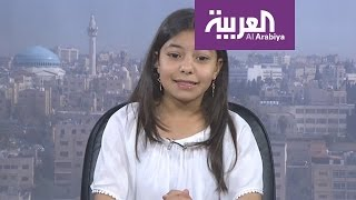 صباح العربية : أصغر روائية عربية ترفض الحديث إلا باللغة العربية الفصحى