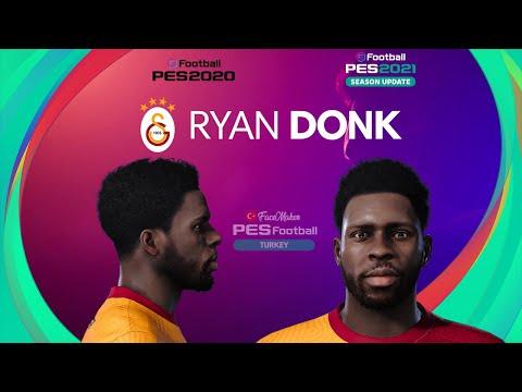 PES 2021 Ryan DONK (v2) Face by  PES Football TURKEY