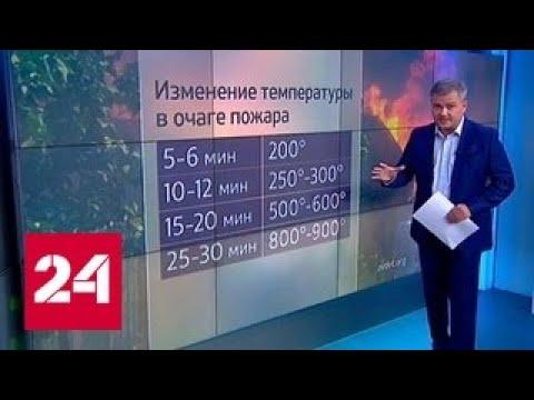 """""""Погода 24"""": пожар в Ростове-на-Дону"""