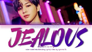 Kang Daniel (강다니엘) - 'Jealous' Lyrics (Color Coded_Han_Rom_Eng)