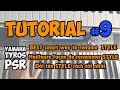 Yamaha PSR-S Tutorial [9] : BEST smart way to rename copied STYLE