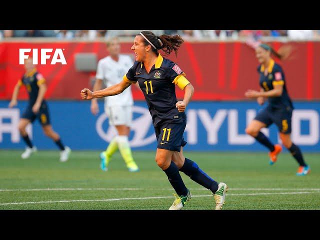 🇦🇺 Lisa De Vanna | FIFA Women's World Cup Goals