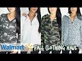 WALMART FALL/WINTER CLOTHING TRY ON HAUL 2018   Affordable & Trendy