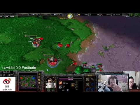 Warcraft 3 Reforged Lawliet (NE) Vs Fortitude (HU) HSL2 Cuartos De Final