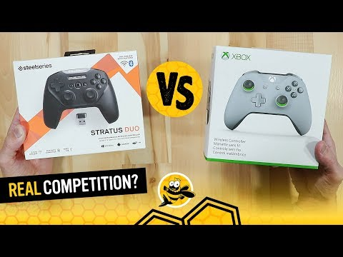 SteelSeries Stratus Duo Vs Xbox One Controllers