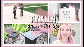 NEW HAIR - FINALLY! | DAY IN THE LIFE OF A MOM 2020