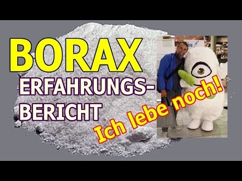 #2 BORAX BOR  Erfahrungsbericht  Nach 3  Wochen Es Funzt!