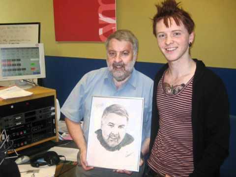 Nathan Wyburn BBC Radio Wales Roy Noble Interview 31/08/2011