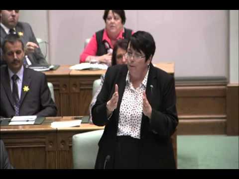 Cathy Bennett, Minister of Finance