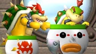 New Super Bowser Wii - All Airship Levels (Bowser vs Bowser Jr.)