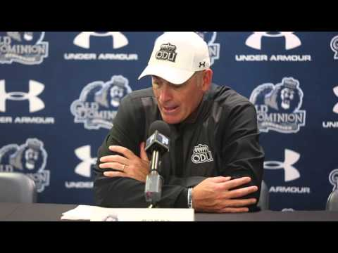 Post-game press conference with Coach Bobby Wilder