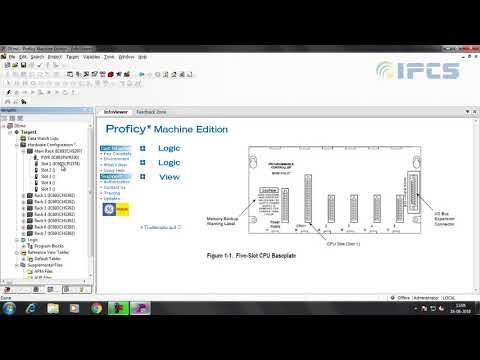 GE-Fanuc PLC Hardware Configuration And PLC Communication.