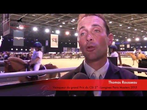 Baixar Interview Thomas Rousseau - Longines Paris Masters 2015
