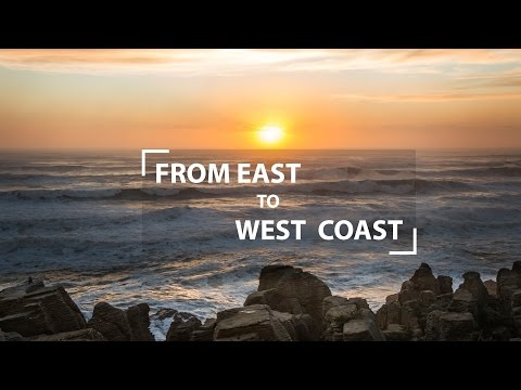 From East to West Coast in New Zealand