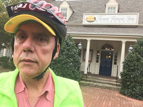 Biking to George Washington's Mont Vernon, Old Town Alexandria and DC