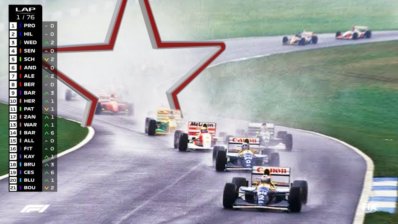 If Classic F1 Races Had Modern Graphics Part 2