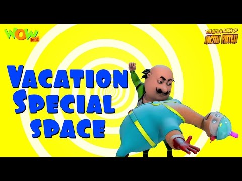 Motu Patlu Vacation Special | Space -...