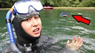 SCUBA DIVING FOR LOST IPHONE!! thumbnail