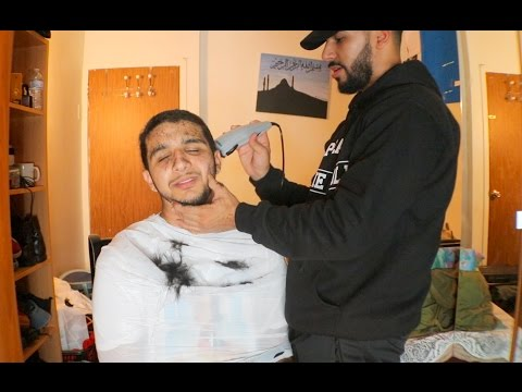 LITERALLY SHAVED HIS HEAD PRANK!!!