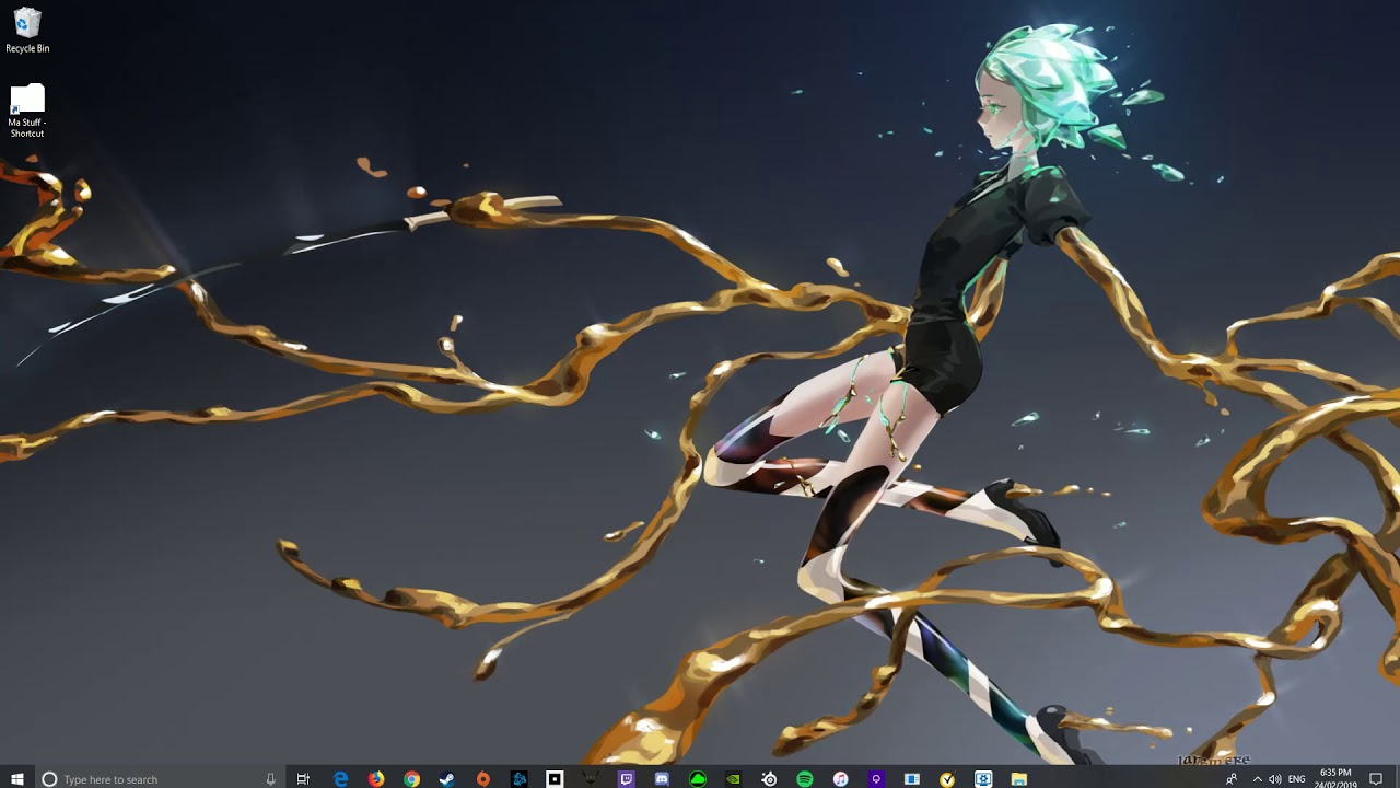 Land Of The Lustrous Wallpaper Engine Youtube