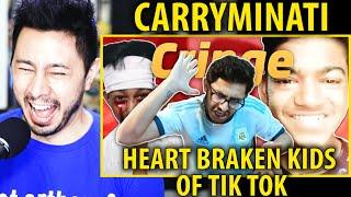 CARRYMINATI | Heart Braken Kids Of  Tik Tok | Reaction | Jaby Koay
