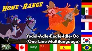 Home On The Range - Yodel-Adle-Eedle-Idle-Oo (One-Line Multilanguage)