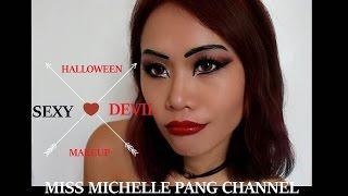 万圣节性感女恶魔妆 教学 Sexy Devil Halloween Makeup Tutorial