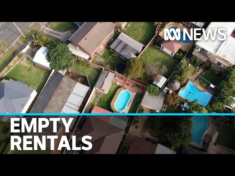 Sydney rents drop and thousands of homes lie empty amid coronavirus pandemic | ABC News