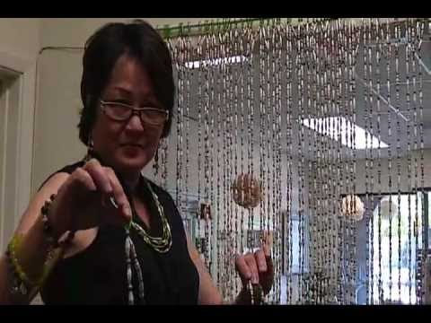 Paper Bead Curtain Part 2 By Janicemae Youtube