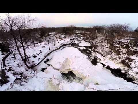Glen Falls in winter - Williamsville, NY