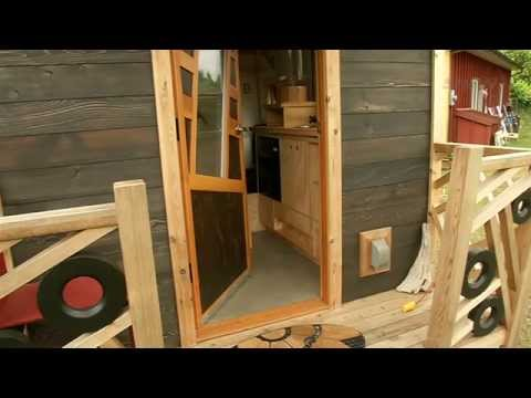 Gnomadik Home A tiny house on wheels YouTube
