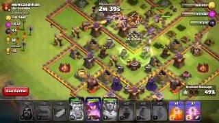 Clash of Clans ATTACK - TH10 Golem Wizz 6 15 - Ubi Cilembu
