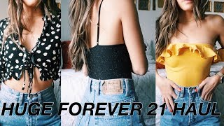 HUGE FOREVER 21 TRY ON HAUL 2018