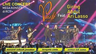 #5 Live Mega Konser Indera Ke Enam Padi Reborn duet Dengan Giring, dan Abdul, Ari Lasso di RCTI+