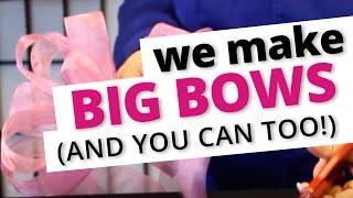How to Make a Big Beautiful Bow! | Nashville Wraps