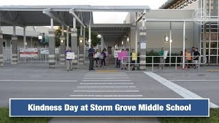Kindness Day at Storm Grove Middle School
