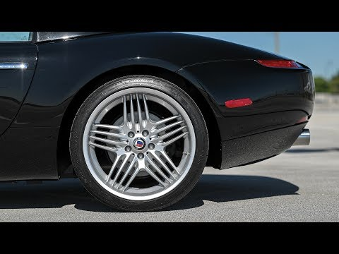 2003 BMW Alpina Roadster V8 The Roadster's Retro-inspired Looks