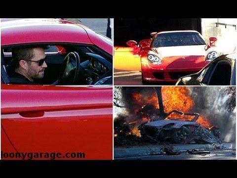Paul Walker Before The Fatal Crash