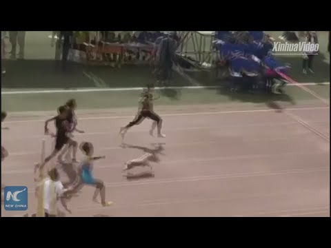 The Pat And Aaron Show - VIDEO : Dog Joins 100-Meter Race, Finishes 2nd