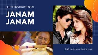 Janam Janam l Dilwale  Shah Rukh Khan   Kajol   Pritam   SRK   Flute Instrumental l Anurag Rastogi l