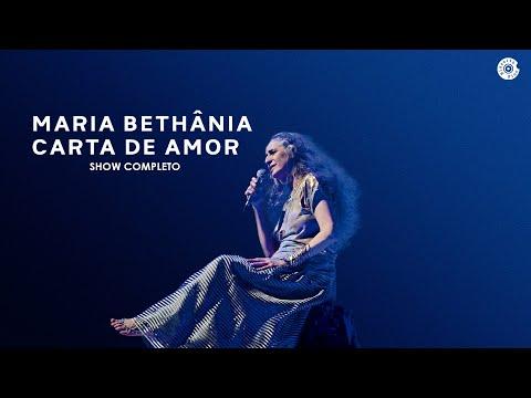 """Maria Bethânia - DVD """"Carta de Amor"""" Completo"""