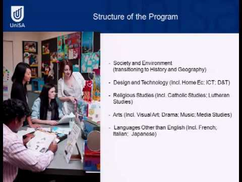 Primary and Middle Teaching - Open Day 2011 - University of South Australia